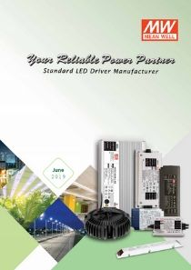 MEAN WELL LED Power Supply Catalogue