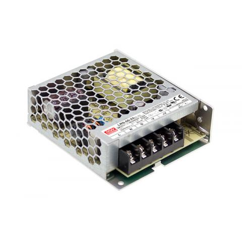 MEAN WELL 50W Enclosed Power Supply